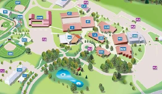Campus Map Texas Am.Directions Www Tamut Edu