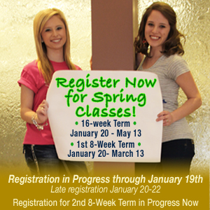 Register the Spring semester now!