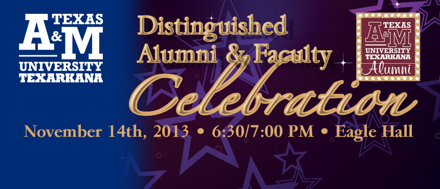 Distinguished Alumni and Faculty Celebration