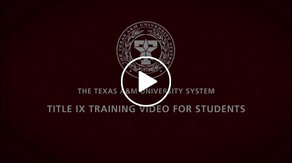 Title IX Video