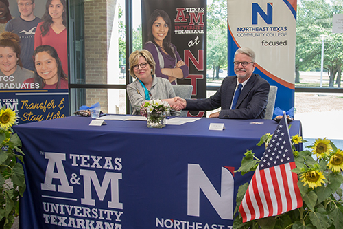 Articulation Agreement Signing Day